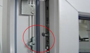 Регулировка прижима балконной двери
