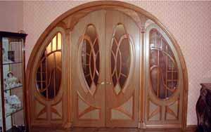 Дверь в стиле модерн