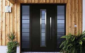 Нестандартная дверь из металла