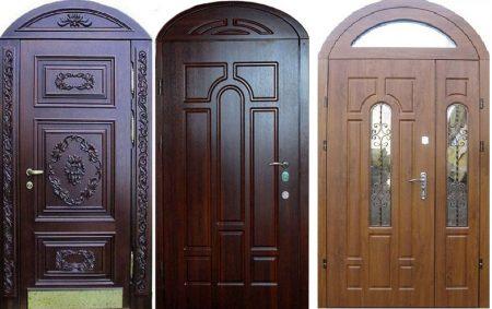 Классическая форма арочных дверей