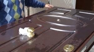 Работы по реставрации двери