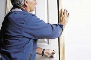 Проверка правильности открывания двери