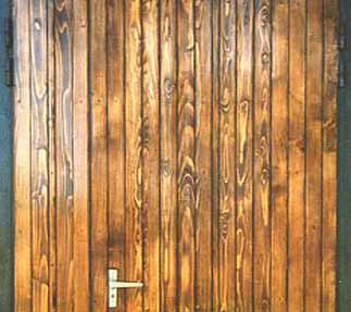 Обшивка входной деревянной двери своими руками