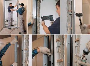 Инструкция по установке двери