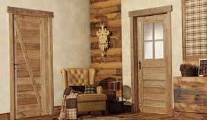 Двери в стиле кантри