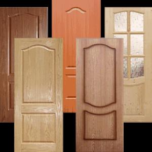 Пример дверей из массива