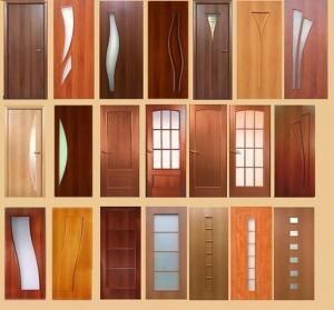 Ассортимент дверей для установки в доме