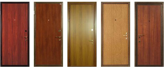 отделка металлической двери москва
