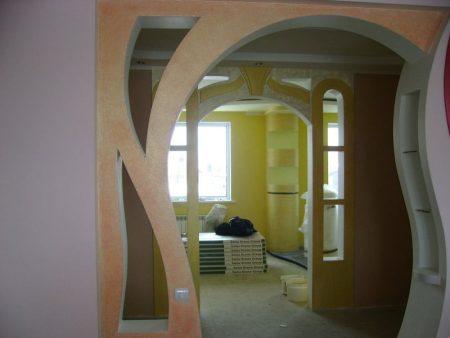 Красивое оформление арки