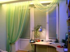 Белый цвет профиля балконной двери