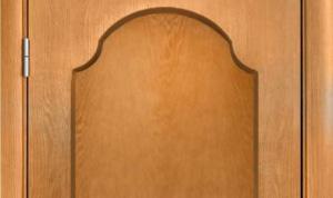Фанерованная дверь