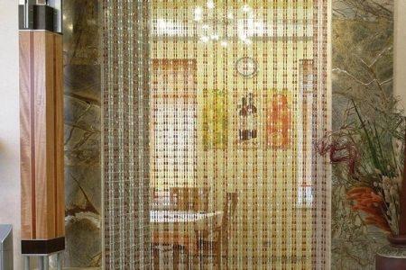 Бамбуковые шторки на дверную арку
