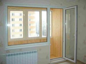балконные двери из пластикового профиля
