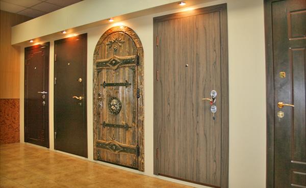 Модельный ряд входных дверей
