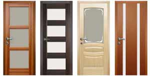 Двери с остеклением