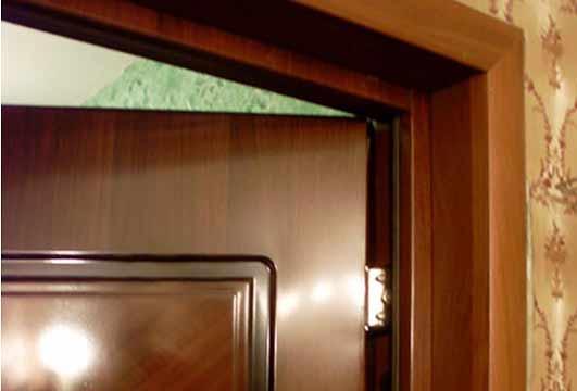 Откос входной двери
