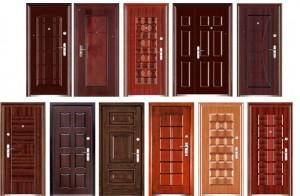 Дизайн металлической двери