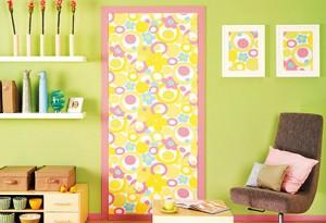 Декоративная окраска двери