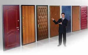 Выбор дверей из металла