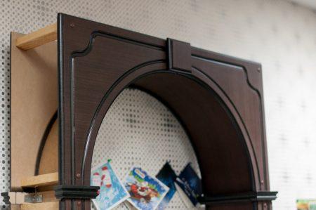 Пример готовой арки из МДФ