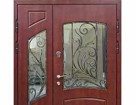 Полуторастворчатая дверь