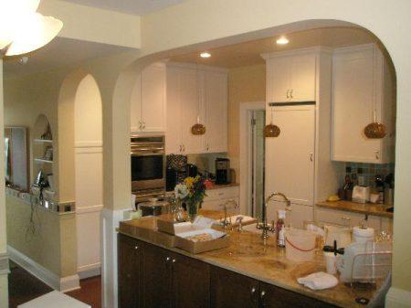 Красивые арки на кухню