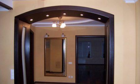 Современная арка в интерьер дома