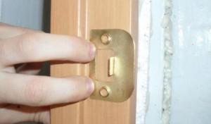 Ответная планка двери