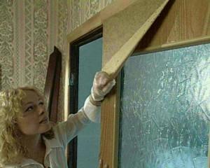 Подготовка к реставрации двери