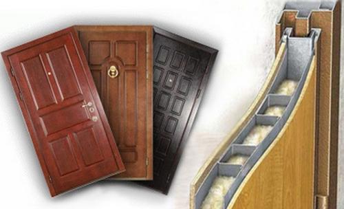 Готовые двери с шумоизоляцией