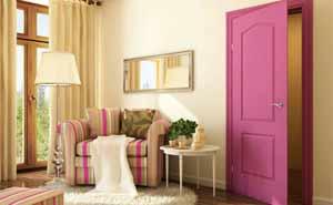 Дверь в комнате отдыха