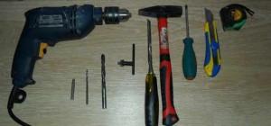 Инструменты для врезки замка