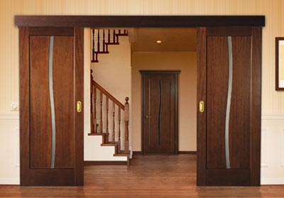 Глухие раздвижные двери