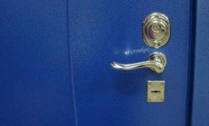 Порошковое покрытие двери