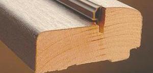 Профиль деревянного порога